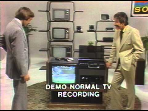 First Betamax - Salesman Training Video 1977
