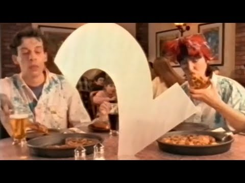 Pizza Hut - BBC Two - Advert (1994)