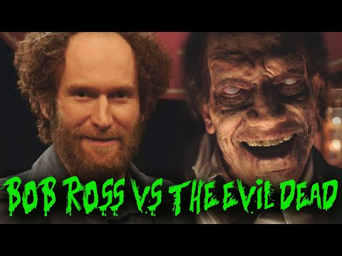That Time Bob Ross Fought The Evil Dead