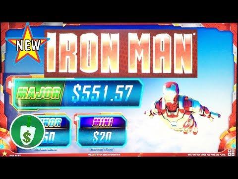 ⭐️ NEW - Iron Man slot machine, feature