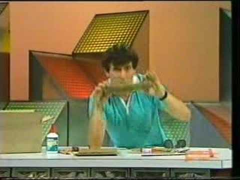 The Curiosity Show: Corrugated Cardboard Glasses
