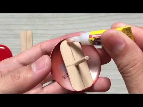 Homemade Akira Shotaro Kaneda's Bike Using Soda Cans