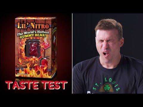 The World's Spiciest Gummy Bear Taste Test!