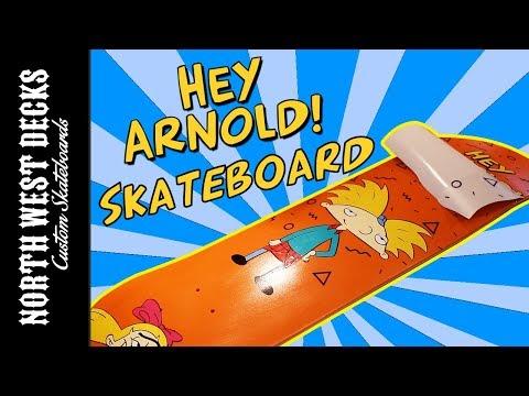 Making A Hey Arnold Skateboard!