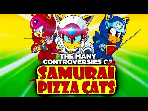 The Many Controversies of Samurai Pizza Cats: Racism, Gag Dubs & Disney Trying to Kill It!