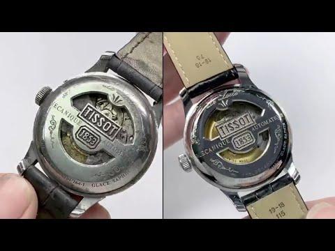 TISSOT 1853 Restoration old watch | Restoring