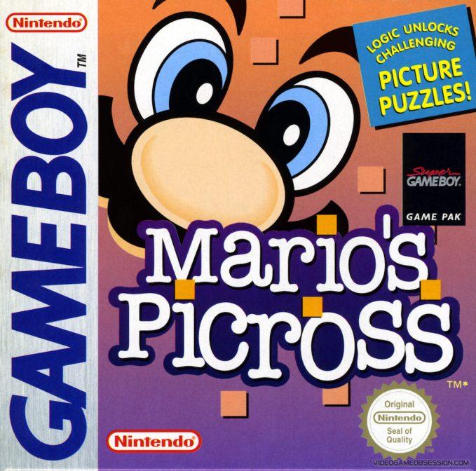 mario's picross gameboy box art