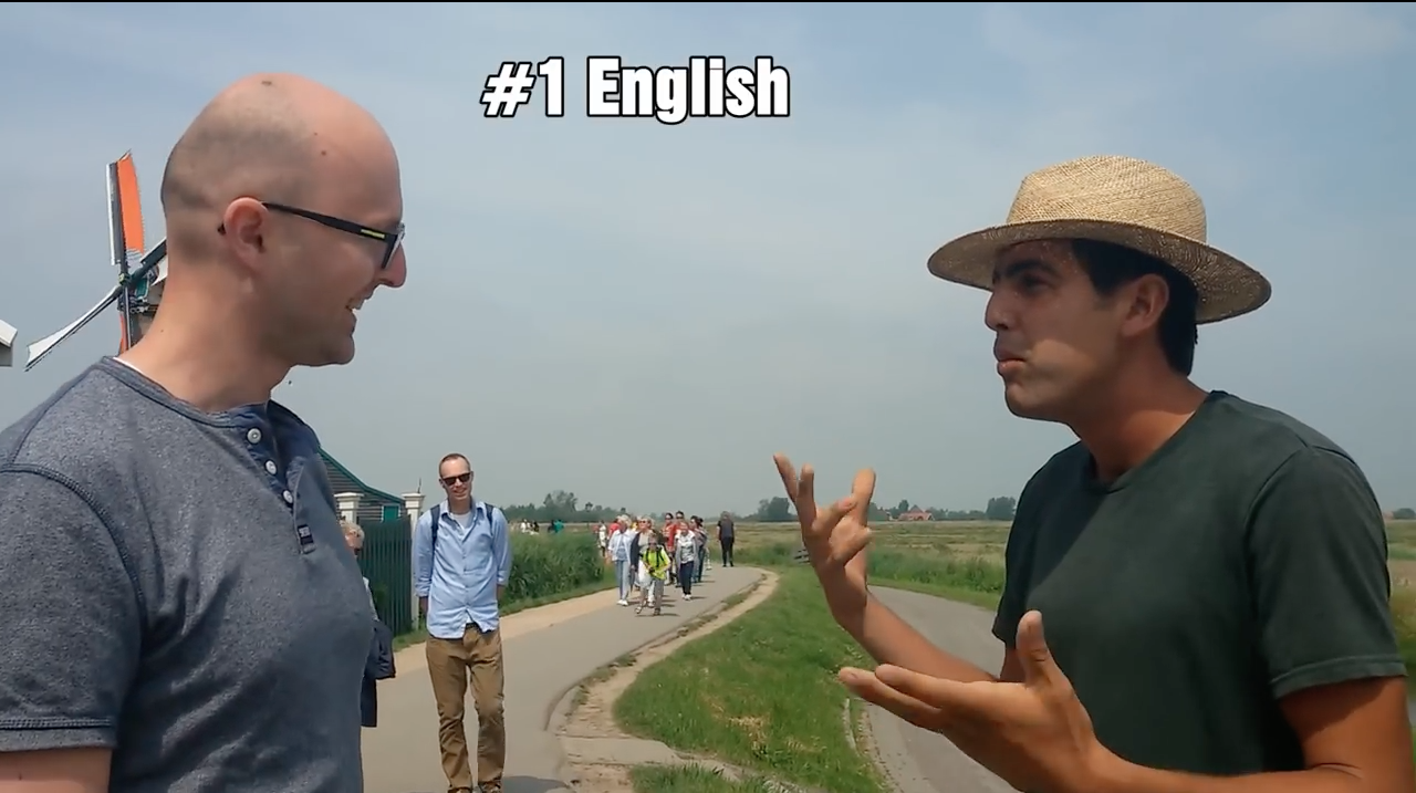Watch Two Polyglot Have A Chat In 15 Different Languages