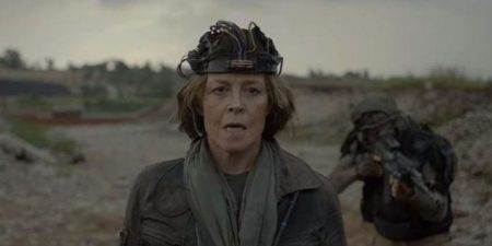 Sigourney Weaver in Rakka