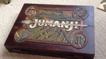 Jumanji Fan Steven Richter Builds Replica From Scratch