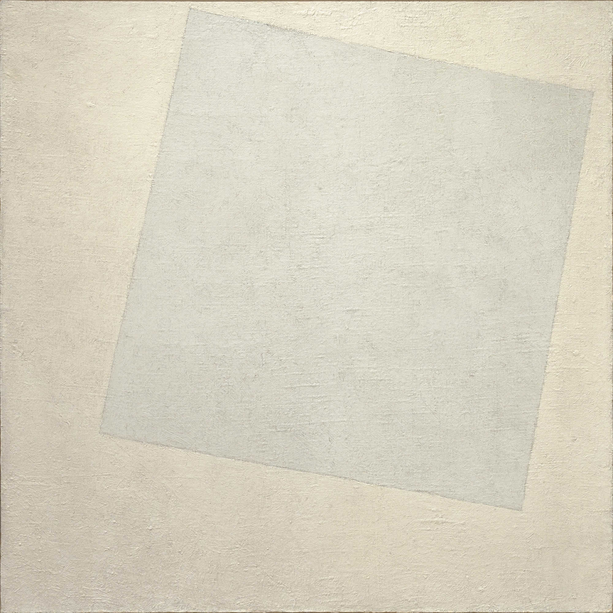 Hey, it's one of those white paintings!
