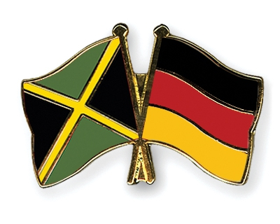 Jamaica and Germany flag pins