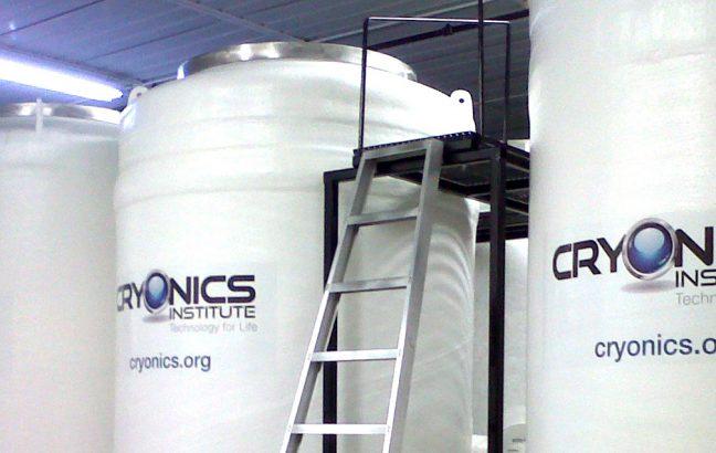 cryonics tanks