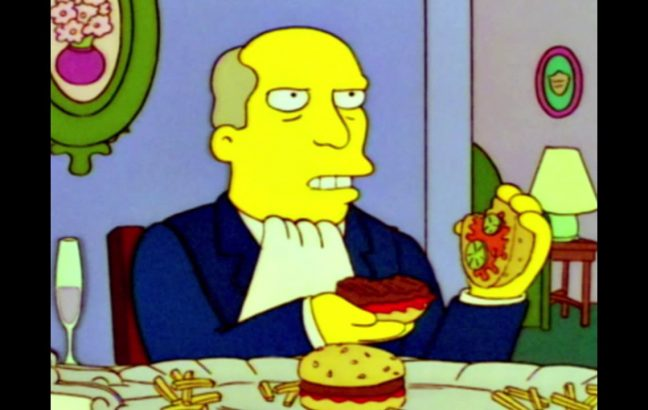 Steamed Hams, edited like the original series of Dragon Ball Z