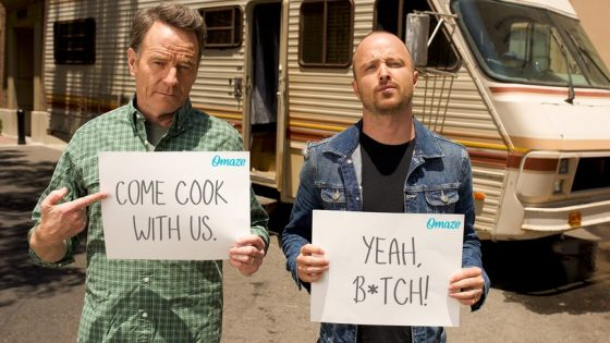 Cook In The Breaking Bad RV with Aaron Paul and Bryan Cranston