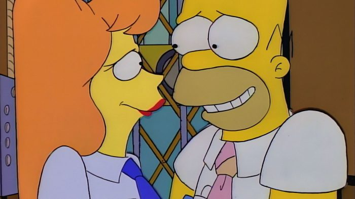 Homer and Mindy