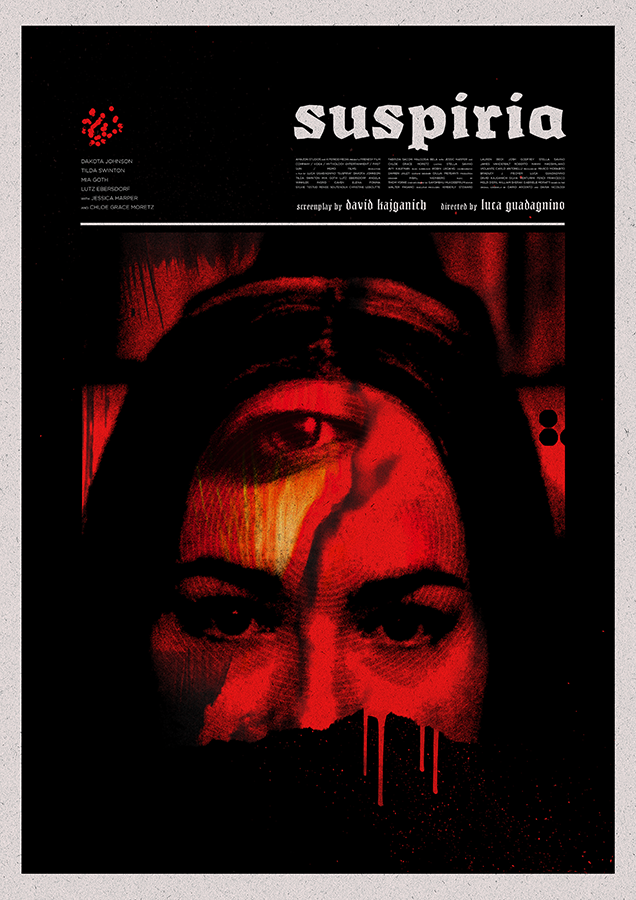 Suspiria Poster by Matt Needle