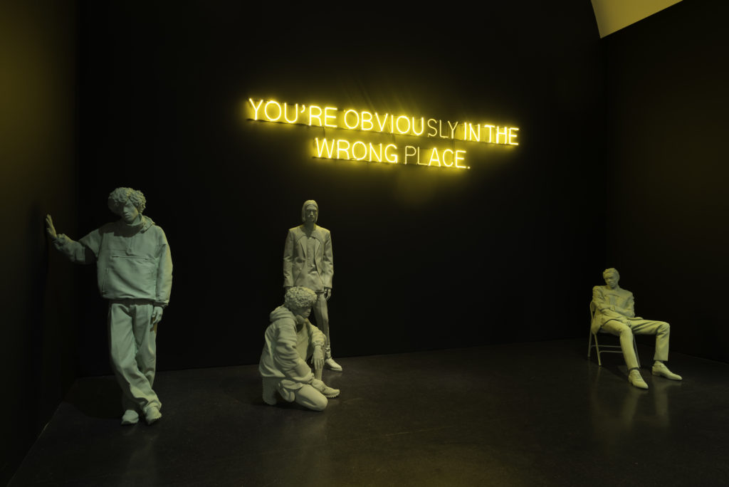 """Installation view, Virgil Abloh: """"Figures of Speech"""", MCA Chicago. June 10 – September 22, 2019. Photo: Nathan Keay, © MCA Chicago."""