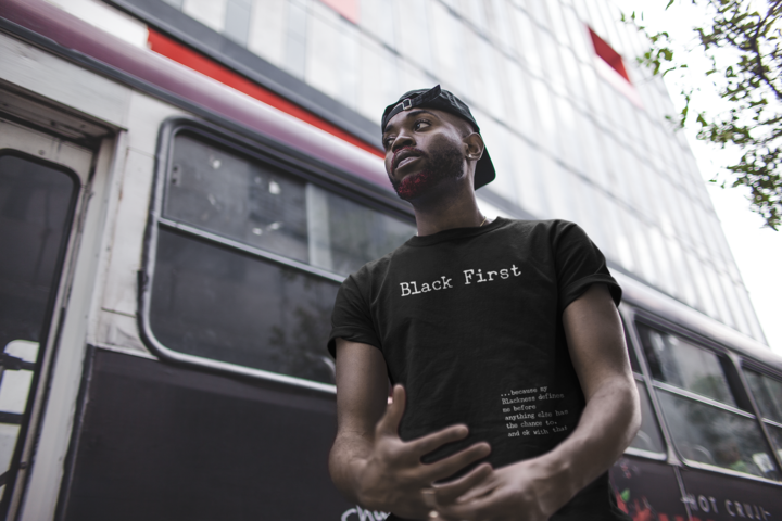 Black First T-Shirt from Social Theory
