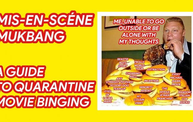 Dom Griffin's Guide To Quarantine Movie Binging
