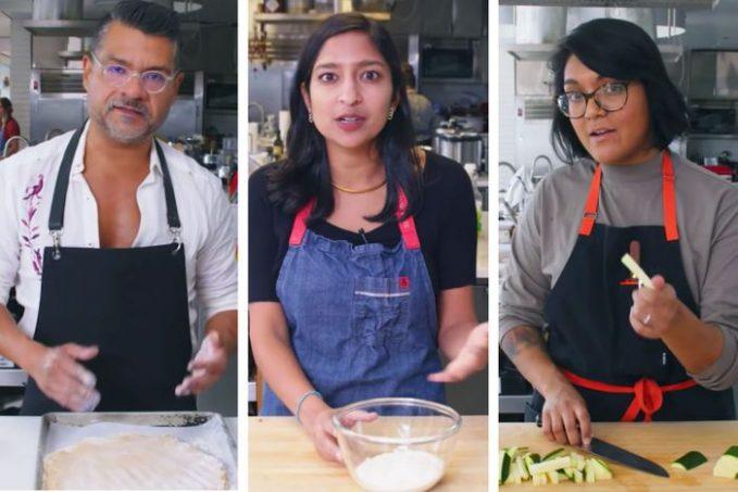 Rick, Priya, and Sohla, formerly of Bon Appetit