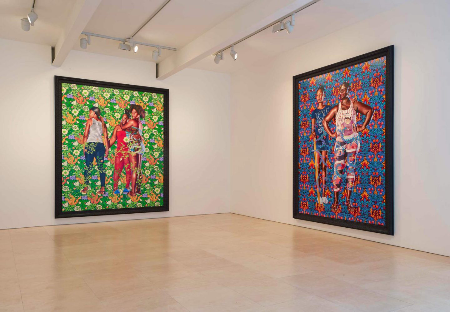 Photos of Kehinde Wiley's The World Stage: Jamaica exhibition