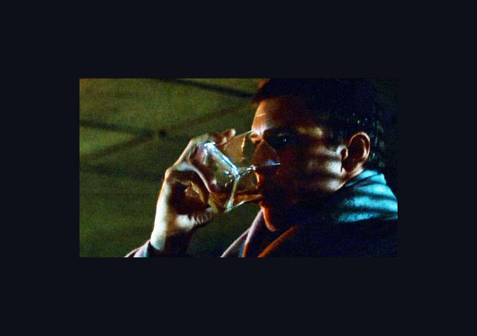 Rick Deckard's whiskey glass