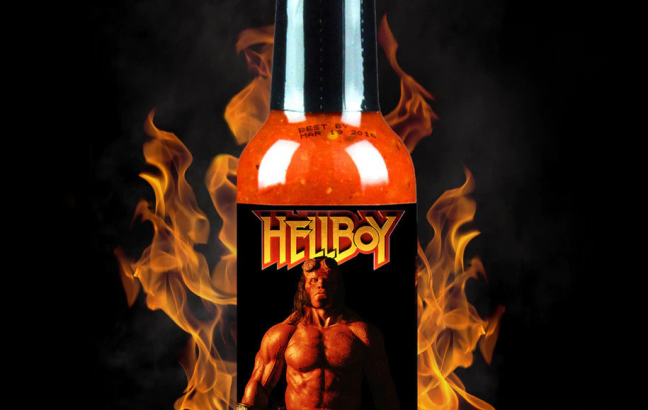 Hellboy Right Hand of Doom Hot Sauce