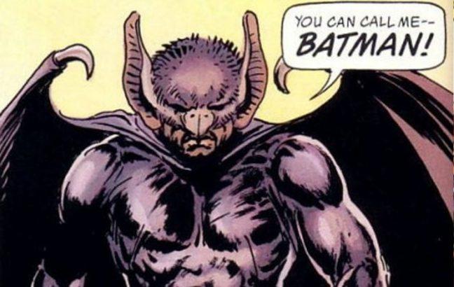 Wayne Williams as Batman
