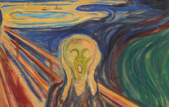 edvard munch's scream