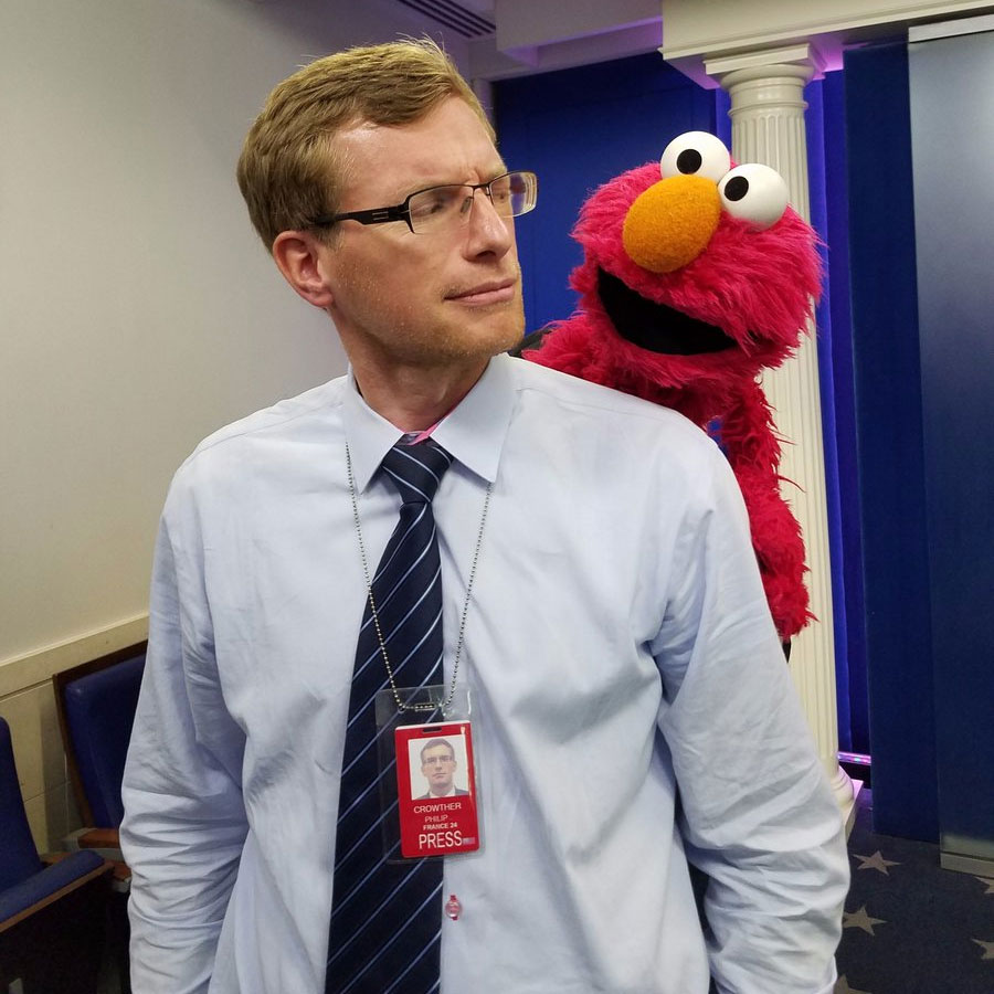 philip crowther and elmo